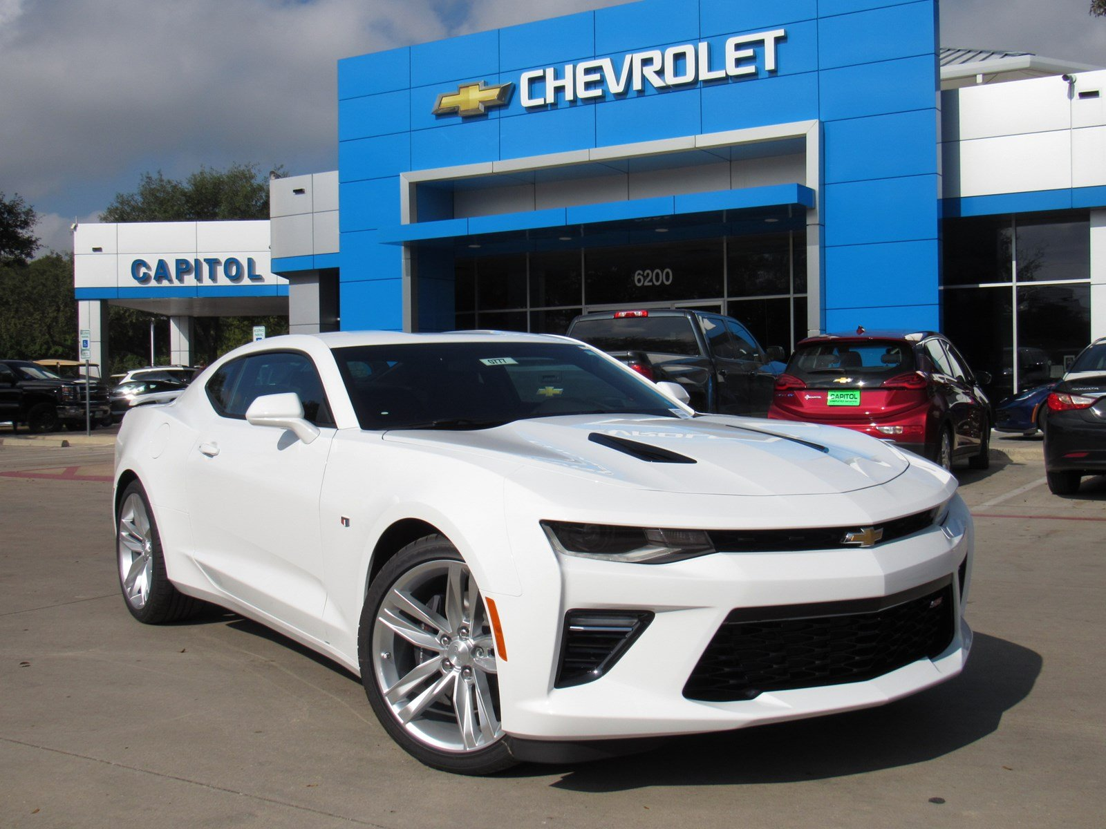 New 2018 Chevrolet Camaro Ss 2dr Car In Austin 180777