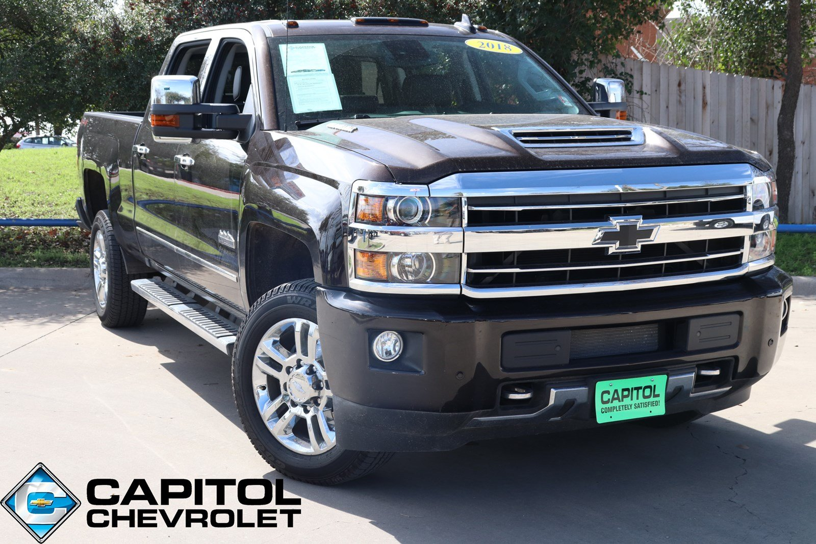 All Chevy chevy 2500hd high country : Pre-Owned 2018 Chevrolet Silverado 2500HD High Country Crew Cab ...