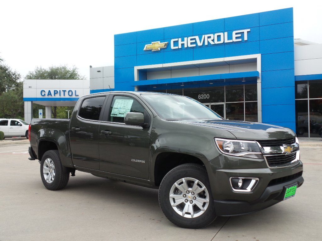 New 2018 Chevrolet Colorado 2wd Lt Crew Cab Pickup In