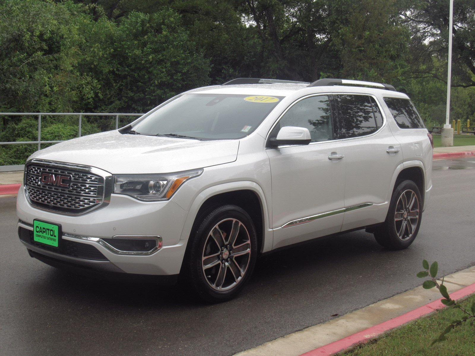 pre owned 2017 gmc acadia denali sport utility in austin 171599a capitol chevrolet. Black Bedroom Furniture Sets. Home Design Ideas
