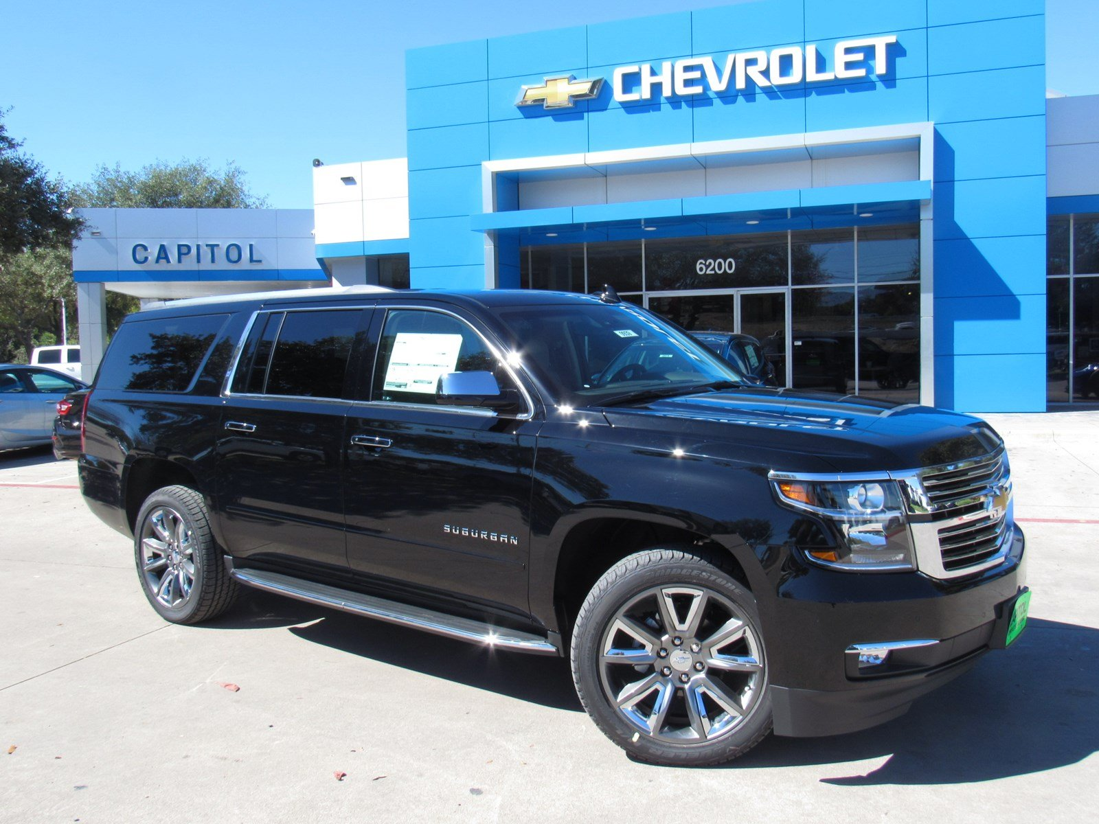 new 2018 chevrolet suburban premier sport utility in austin 180939 capitol chevrolet. Black Bedroom Furniture Sets. Home Design Ideas